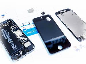 Быстрая замена дисплея на айфон 5с