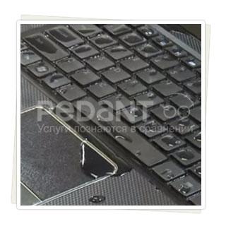 Быстрая чистка клавиатуры ноутбука после залития в сервисах Москвы и СПб
