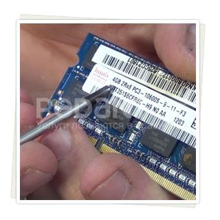 Замена оперативной памяти на ноутбуке