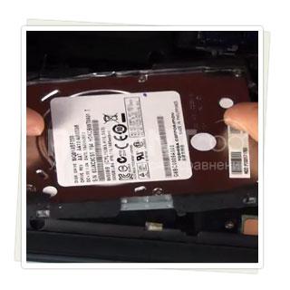 Низкие цены на ремонт жесткого диска ноутбука в Москве