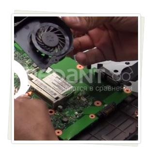 Качественная замена вентилятора на ноутбуке в короткие сроки