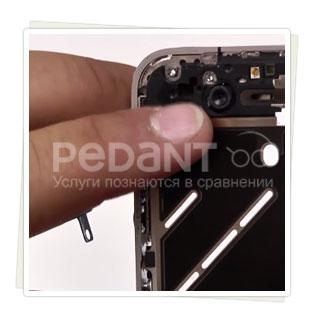 Замена передней камеры на iPhone