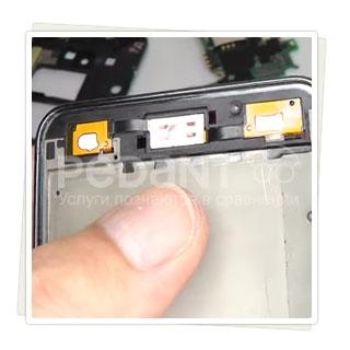 Замена кнопок корпуса на Samsung