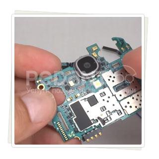 Недогой и постгарантийный ремонт основной камеры на Samsung