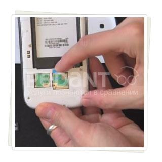 Замена SIM-держателя на Samsung