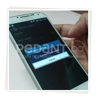 Обновление ПО на Samsung