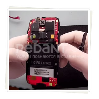 Восстановление телефонов HTC  после влаги
