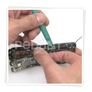 Быстрая и профессииональная замена разъема SD-карты  HTC