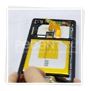 Замена аккумулятора на Sony