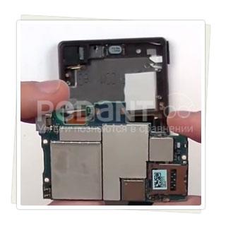 Замена разъема SD-карты на Sony