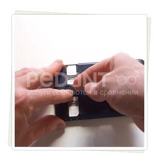 Замена разъема SD-карты на Philips