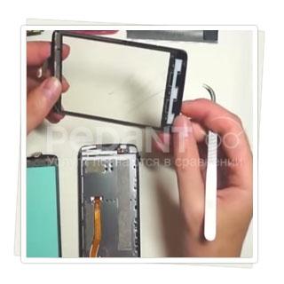 Замена сенсора на  Philips от профессионалов