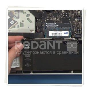 Профессиональная замена батареи macbook pro 13, 15 Retina по низким ценам