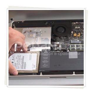 Замена жесткого диска на macbook pro по низким ценам