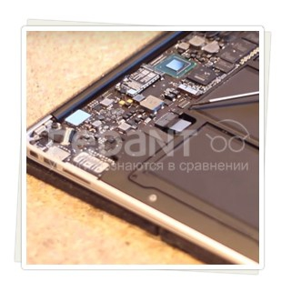 Замена аккумулятора на macbook Air