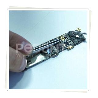 Осуществим ремонт материнской платы айфон 5 любой сложности