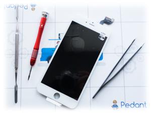 Оперативная замена стекла на айфоне 6 плюс