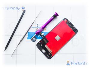 Выгодные цены на замену стекла айфон 7
